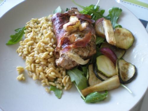 Linas maträtt måndag (tisdag) och klänning (läs korvskinn)! - Bild 1