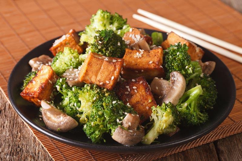 vegetarisk gi mat