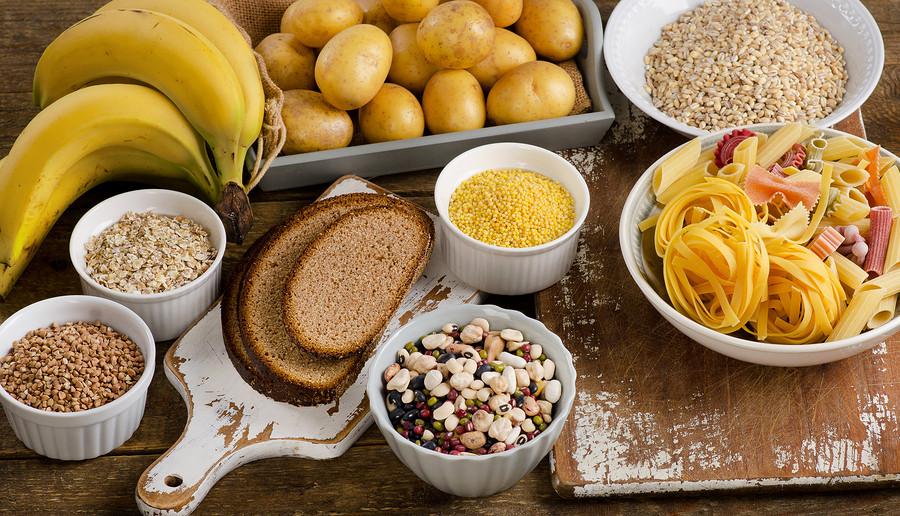 vilken mat innehåller kolhydrater