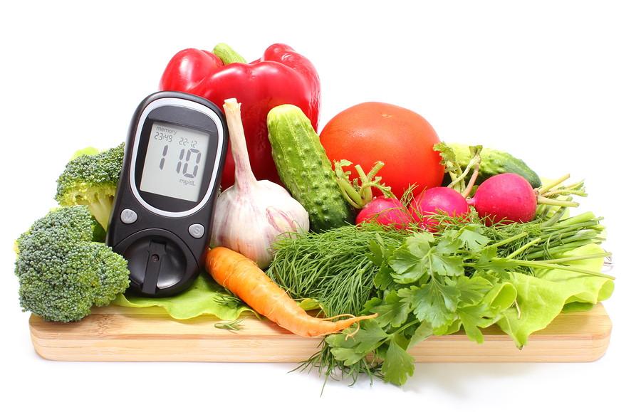mat för en diabetiker